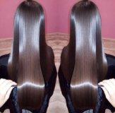 Кератиновое выпрямление,Ботокс для волос