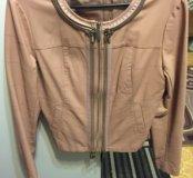 Куртка женская кожанка