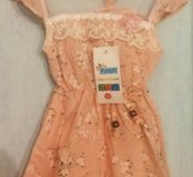 Новое легкое платье!!!длина платье 47см