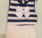 Новое платье размер 100-110