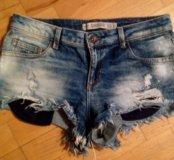 Шорты джинсовые Zara