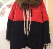Зимняя очень тёплая куртка. Размер L