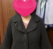 Модное укорочённое пальто