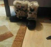 Ботинки(унты) 34 размер