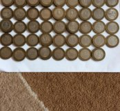 10 юбилейных монет 83 штук