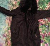 Утеплённая куртка-бомбер PULL&BEAR