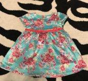 Платье на девочку baby go 86р