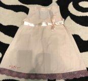 Платье на девочку 86-92р