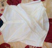 СРОЧНО Белая новая рубашка