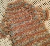 Новый вязаный свитер-шубка для кошечек и собачек