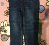 Утепленные джинсы 98-104