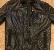 Куртка кожаная Zara men