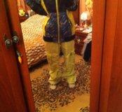 Сноубордические штаны и куртка