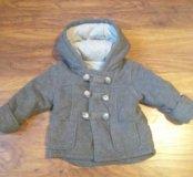 Пальто демисезонное на 1,5-2 года