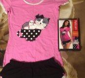 Пижамка на девочку подростка