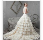 Свадебное платье авторское новое.