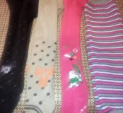 Теплые колготки и штанишки 1-2года