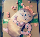 "Подушка-игрушка ""Спящая кошка"""