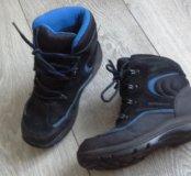 Натуральные ботинки на мальчика