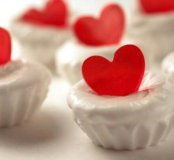 Мыло ручной работы с сердцем на 14 февраля
