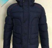 Мужская зимняя куртка( т.синий цвет)