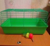 Клетка для грызунов-кролика,хорька,морской свинки