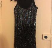 Платье с пайетками фирма sela