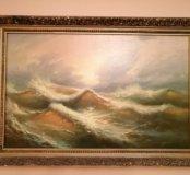 Картина «Шквальный ветер» П.В. Румянцев