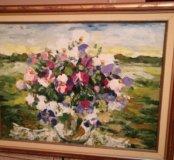 Картина «Картофельное поле» Георгий Плотников