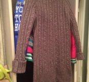 Вязаное платье ( туника) новое