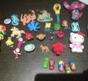 Игрушки из киндера для девочек и мальчиков