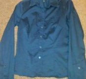 Рубашка, темно-синяя