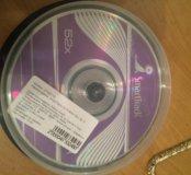 Диски CD-R 9 шт в упаковке