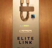 Новый кабель для Apple устройств Momax Elite Link