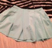 Салатовая юбка