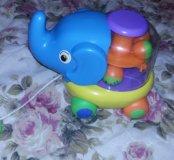 Каталка слоник