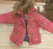 Куртка на девочку на 1.5 -2 годика