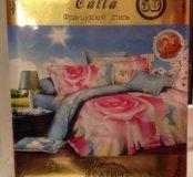 Комплект постельного белья 2-спальный 5D