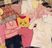 Одежда на девочку 1-1.5