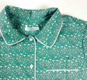 Пижамный костюм (цветочно-ягодный принт)