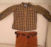 Рубашка и брюки на мальчика