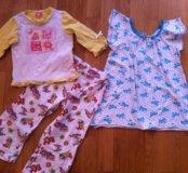 Пижама и сорочка 104-110