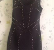 Вечернее платье с шипами
