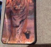 3D чехол (тигр-лев)