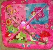 Развивающий коврик ТиниЛав и игрушкп на кроватку