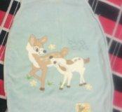 Теплый спальный мешок для малышей.