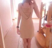 Золотистое платье в добрые руки