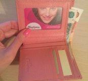 Новый кошелёк из натуральной кожи (100%)
