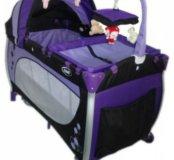 Новый манеж-кровать Avanti My Baby