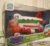 Свинка Пеппа. Реактивный самолет.